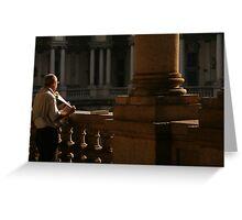 brera art gallery, milan Greeting Card