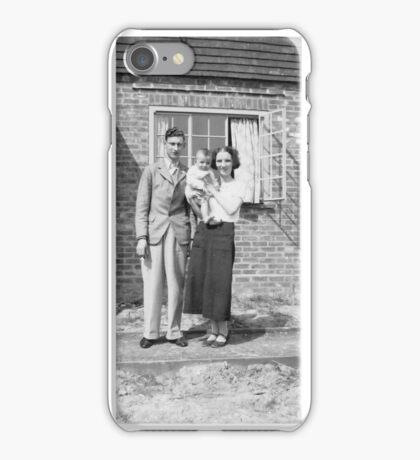 1937 Mum, dad & me iPhone Case/Skin