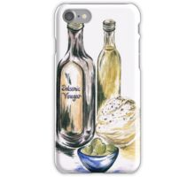 Olives with Bread and Dip iPhone Case/Skin
