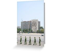 plaza de la revoluccion, havana, cuba Greeting Card