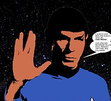 Mr. Spock by mrsaad27