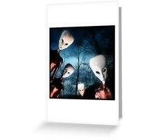 The Watchers Greeting Card