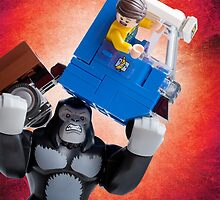 Lego Gorilla Grodd - Custom Artwork & Photography by CBDigitalGoods