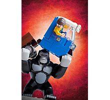 Lego Gorilla Grodd - Custom Artwork & Photography Photographic Print