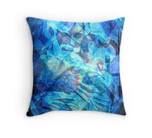 Jeweled Embrace Throw Pillow