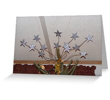 TREE TOPPER - WHY SETTLE FOR JUST ONE STAR!! Greeting Card