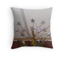 TREE TOPPER - WHY SETTLE FOR JUST ONE STAR!! Throw Pillow