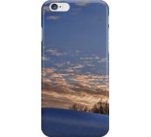Winter Winding Down iPhone Case/Skin
