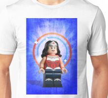 Lego Wonder Woman - Custom Artwork & Photography Unisex T-Shirt