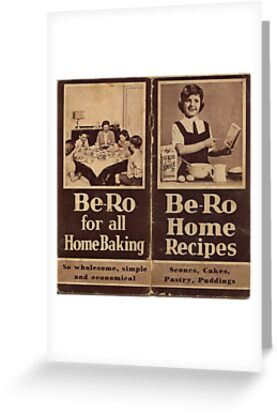 "Be-Ro Home Recipes ""cook book"" by Woodie"