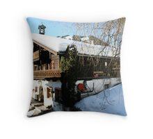 Alet cozy house-Austria -Salzburger Land Throw Pillow