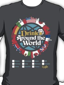 Drink Around the World - EPCOT T-Shirt
