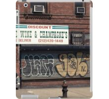 Liquor Store in NYC - Kodachrome Postcard  iPad Case/Skin