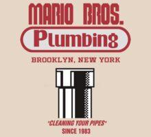 Mario Bros. Plumbing by dodadue89