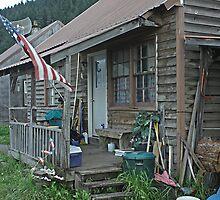 Settler's cabin by John  Lambert