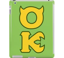 Monsters U: Oozma Kappa iPad Case/Skin