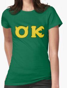 Monsters U: Oozma Kappa Womens Fitted T-Shirt