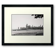 Chicago Shores Framed Print