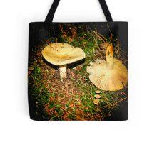 Mushroom In Light Tote Bag