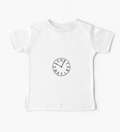 Save the Clock Tower (Back to the Future Print) Baby Tee