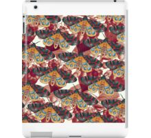 moth allover pattern 2 iPad Case/Skin