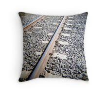 Bolted Down Throw Pillow