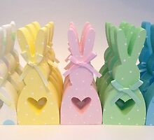 Easter Bunnies by CraftyBelle