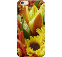 Lots of Autumn Flowers iPhone Case/Skin