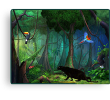Rainforest Rapture Canvas Print