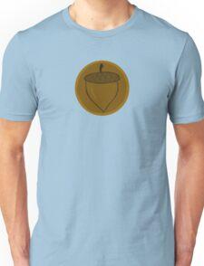 The Hobbit- Bronze Acorn Button Unisex T-Shirt