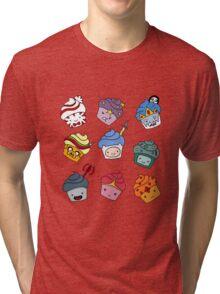 Adventurous Cupcakes Tri-blend T-Shirt