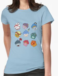 Adventurous Cupcakes Womens Fitted T-Shirt
