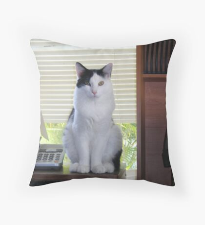 TATU Throw Pillow