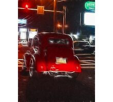 Saturday Night Cruiser Photographic Print