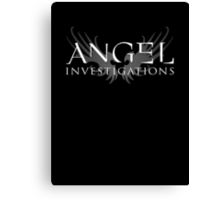 Angel Investigations Canvas Print