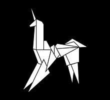 BLADERUNNER ORIGAMI UNICORN by w1ckerman