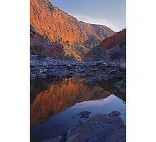 Dawn Sunrise at Ormiston Gorge N,T Photographic Print