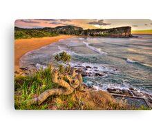 Solitary - Avalon Beach - The HDR Experience Canvas Print