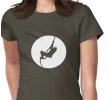Ninja - Stealth = FAIL Womens Fitted T-Shirt