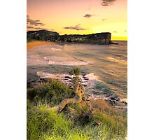 Survivor - Avalon Beach - The HDR Experience Photographic Print