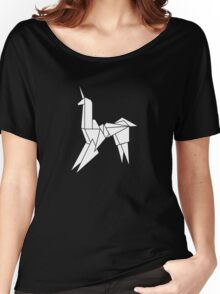 BLADERUNNER ORIGAMI UNICORN Women's Relaxed Fit T-Shirt