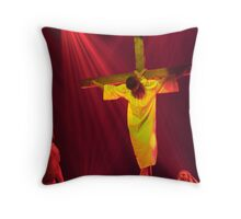 Crucifixion Throw Pillow