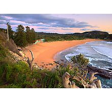 Overlook - Avalon Beach - The HDR Experience Photographic Print