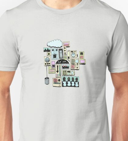 Cloud Clock Can T-Shirt