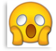 shocked emoji Canvas Print