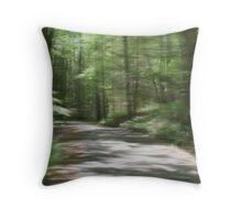 Dream lane Throw Pillow