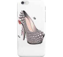 Skull Shoe - Spine Heel - Fashion High Heel iPhone Case/Skin