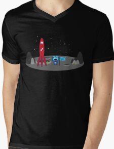 Norbit Monster Rocket Tee Mens V-Neck T-Shirt