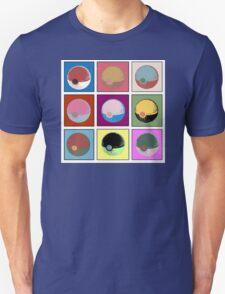 POKEBALL x9 Unisex T-Shirt