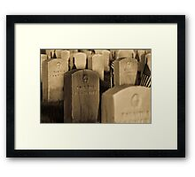 Unkown But Only To God Framed Print